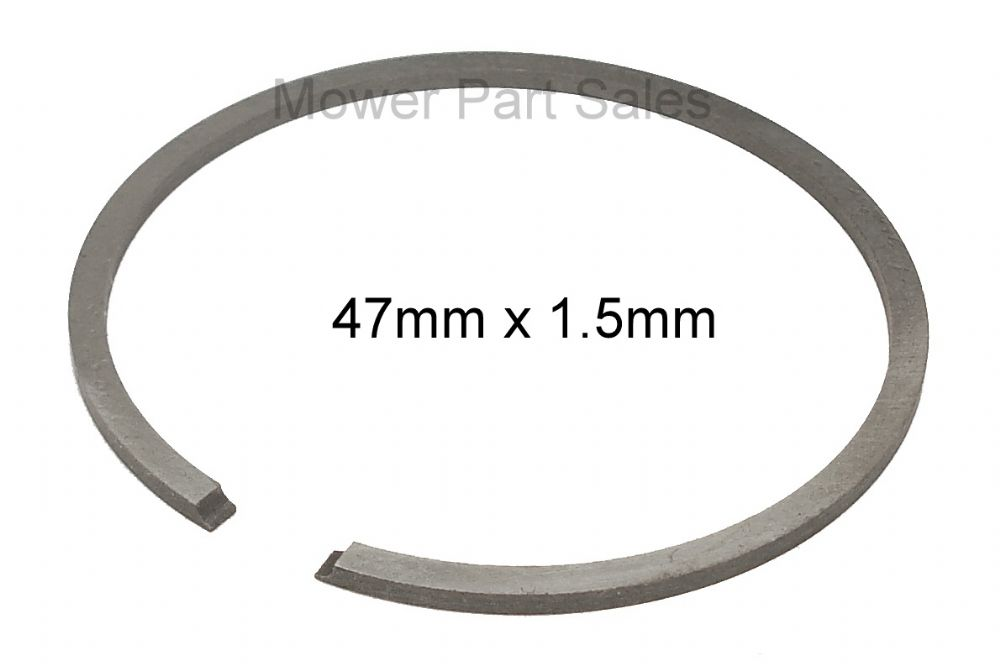 Piston Ring 47mm x 1.5mm Fits Husqvarna 359 & Jonsered 2159, CS2159 Chainsaw and Strimmer, Replaces 503289029, 503289050